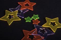 Étoiles colorées Photographie stock libre de droits