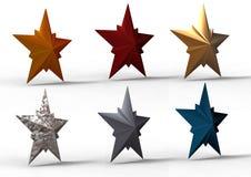 étoiles 3d Photographie stock libre de droits