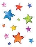 étoiles d'abtract Photographie stock