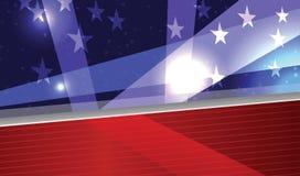 Étoiles d'american national standard de rayures Photo stock