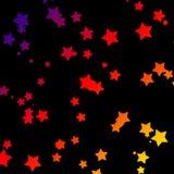 Étoiles d'arc-en-ciel Photographie stock libre de droits