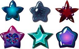 Étoiles d'obscurité Photo libre de droits