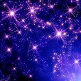 Étoiles dans l'espace Photos libres de droits