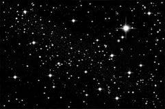 Étoiles dans le ciel Images libres de droits