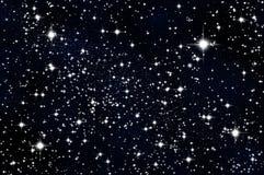 Étoiles dans le ciel Image libre de droits