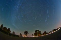 Étoiles dans le ciel Photographie stock libre de droits