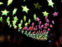 Étoiles dans le ciel Photo libre de droits