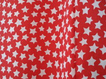 Étoiles dans le rideau Photo stock