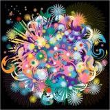 Étoiles de bouquet d'imagination Images libres de droits