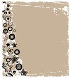 étoiles de cercles dernier cri Image stock