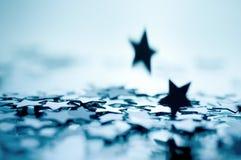 étoiles de chute Images libres de droits
