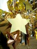 Étoiles de décoration Images libres de droits