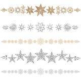étoiles de diviseur Photo libre de droits