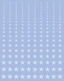 Étoiles de effacement illustration de vecteur