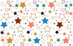 Étoiles de fond Photos libres de droits