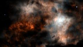 Étoiles de galaxie de nébuleuses de l'espace d'univers Photographie stock libre de droits