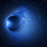 Étoiles de galaxie de l'espace photographie stock