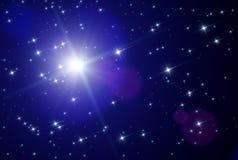 Étoiles de l'espace Photos libres de droits
