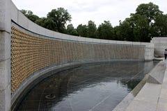 Étoiles de mémorial de la deuxième guerre mondiale Photos stock