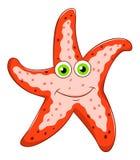 Étoiles de mer de bande dessinée Image libre de droits