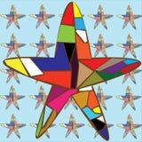 Étoiles de mer de fond Photos stock