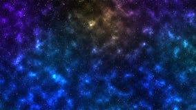 Étoiles de nébuleuses de l'espace d'univers Image stock
