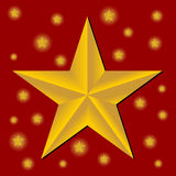 Étoiles de Noël Photos libres de droits
