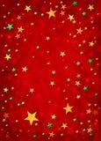 étoiles de Noël 3D Images libres de droits