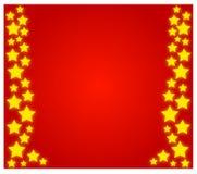 Étoiles de Noël Photo libre de droits