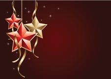 étoiles de Noël Photo stock