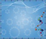 étoiles de Noël de fond Photographie stock libre de droits