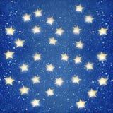 Étoiles de nuit Photo libre de droits