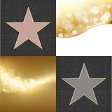 Étoiles de renommée Photographie stock libre de droits