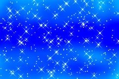 Étoiles de scintillement Image libre de droits