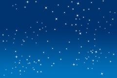 Étoiles de scintillement Photographie stock
