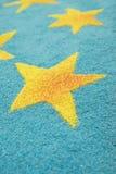 Étoiles de sciure Images libres de droits