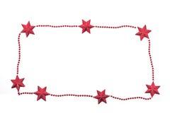 Étoiles de vacances d'an neuf Photo stock