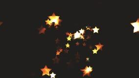 Étoiles des particules abstraites foncées de Colorize Photographie stock libre de droits