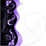 Étoiles et configuration florale Image libre de droits