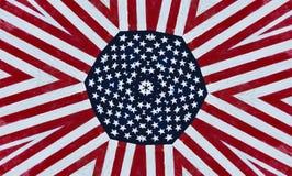 Étoiles et fond américains de pistes Image libre de droits