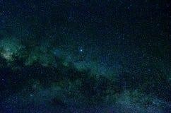 Étoiles et fond d'univers de nuit de ciel d'espace extra-atmosphérique de galaxie Photo libre de droits