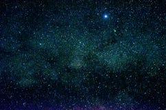 Étoiles et fond d'univers de nuit de ciel d'espace extra-atmosphérique de galaxie Image stock