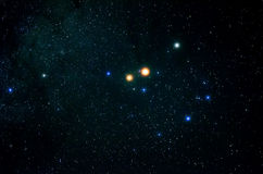 Étoiles et fond d'univers de nuit de ciel d'espace extra-atmosphérique de galaxie Photo stock