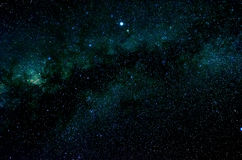 Étoiles et fond d'univers de nuit de ciel d'espace extra-atmosphérique de galaxie Image libre de droits