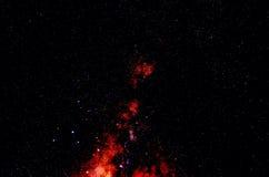 Étoiles et fond d'univers de nuit de ciel d'espace extra-atmosphérique de galaxie Photos libres de droits
