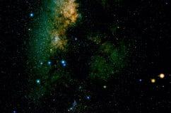 Étoiles et fond d'univers de nuit de ciel d'espace extra-atmosphérique de galaxie Photographie stock libre de droits