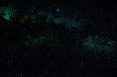 Étoiles et fond d'univers de nuit de ciel d'espace extra-atmosphérique de galaxie Photographie stock