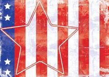 Étoiles et pistes Images libres de droits