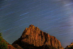 Étoiles et roche Photographie stock libre de droits