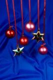 Étoiles et sphères photographie stock